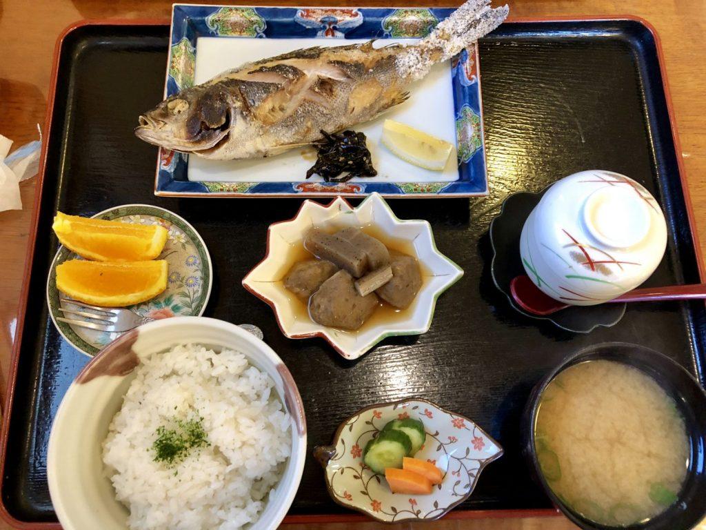 松翠焼魚定食