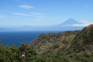 恋人岬より富士山1