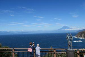 恋人岬より富士山2